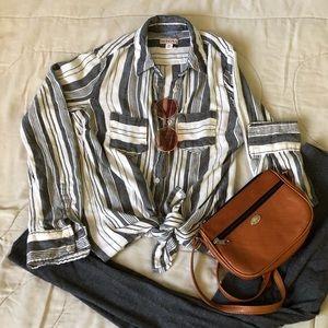 Merona Striped Top
